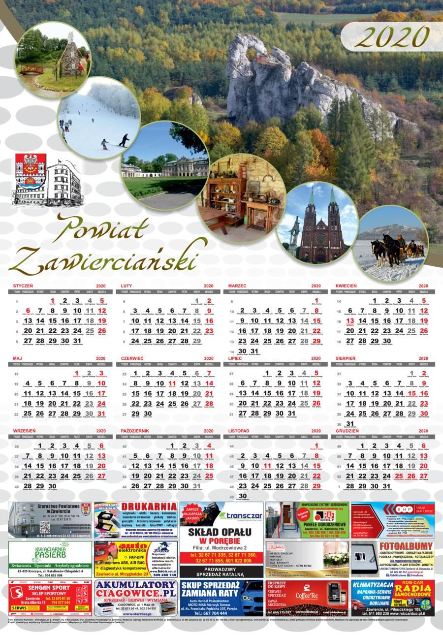 Starostwo Powiatowe Kalendarz
