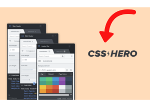 For that reason you shouldn't escape this CSS Hero review