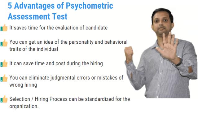 advantages of psychometric assessment tests