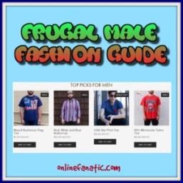 Frugal Male Fashion Tips
