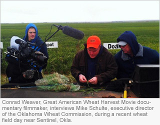 Great American Wheat Harvest Documentary Film Receives State Support from Oklahoma Wheat Commission
