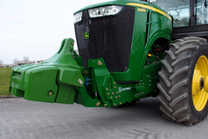 LAFORGE is expanding its Front 3-Point Hitch line for JOHN DEERE to the 9R-Series.