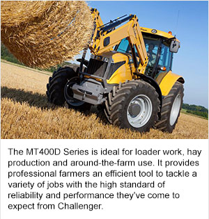 Challenger® Adds MT400D Series Mid-Range Tractors to Its Powerful Lineup