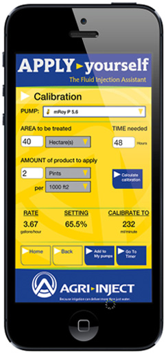 Agri-Inject Introduces new Chemigation App that dynamically simplifies pump selection and management.