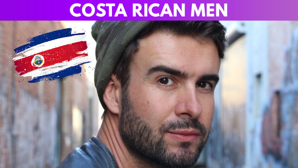 Costa Rican men guide
