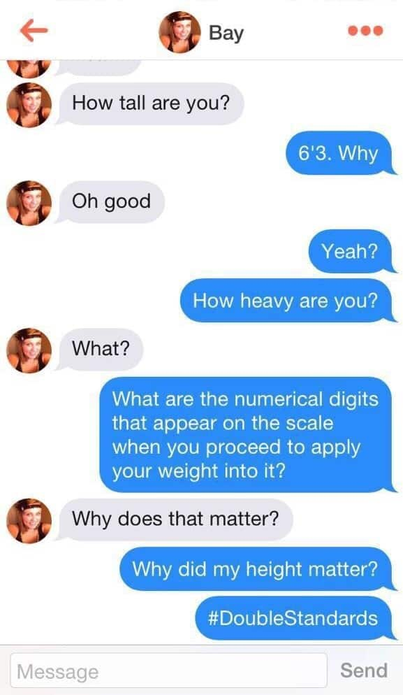 Tinder Memes - The BIG list of the funniest ones in [year] 63