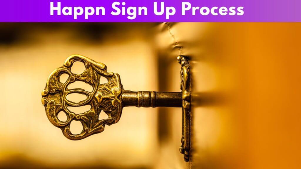 Happn Sign Up Process