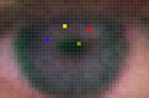 ukazka pixelov s fotografie