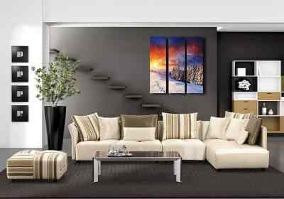 Viacdielne moderné obrazy na stenu, obrazy do obyvačky