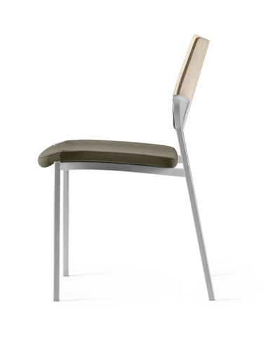 upholstered stacking chairs high chair floor mat nz with no arms source font aspen hills design hours of operation