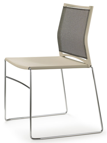 upholstered stacking chairs big and tall outdoor resin chair seat mesh back aspen hills design hours of operation