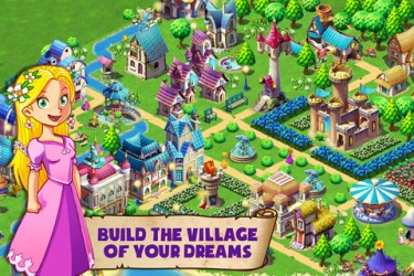 Fantasy Town for iPhone and Android