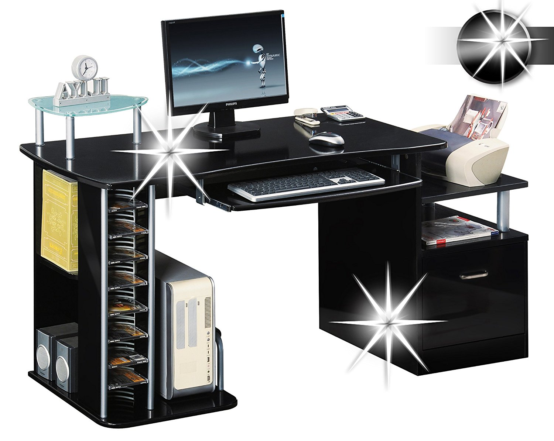 Gamer Schreibtisch und Kabelmanagement  ONLINEGAMEZONE