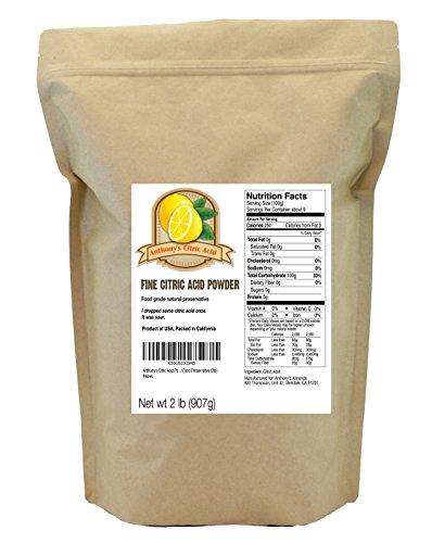 Anthony's Citric Acid Powder Natural Food Preservative ...