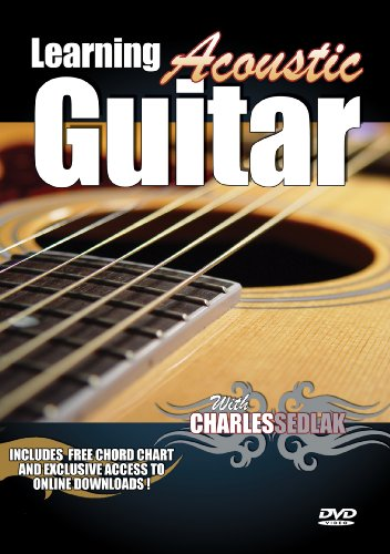51I8ieIzS0L - Acoustic Guitar Lessons: Learning Acoustic Guitar - Learn how to play acoustic guitar instructional video