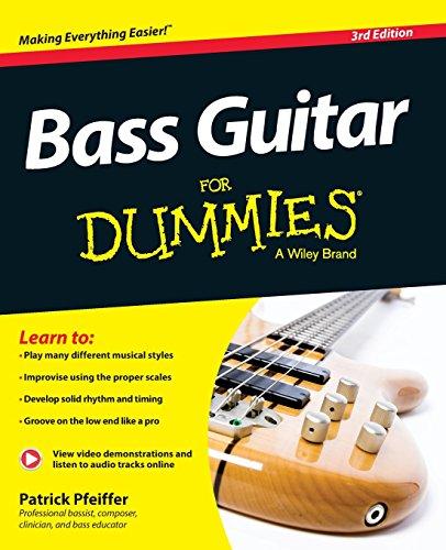 51t0ESEIKXL - Bass Guitar For Dummies, Book + Online Video & Audio Instruction (For Dummies Series)