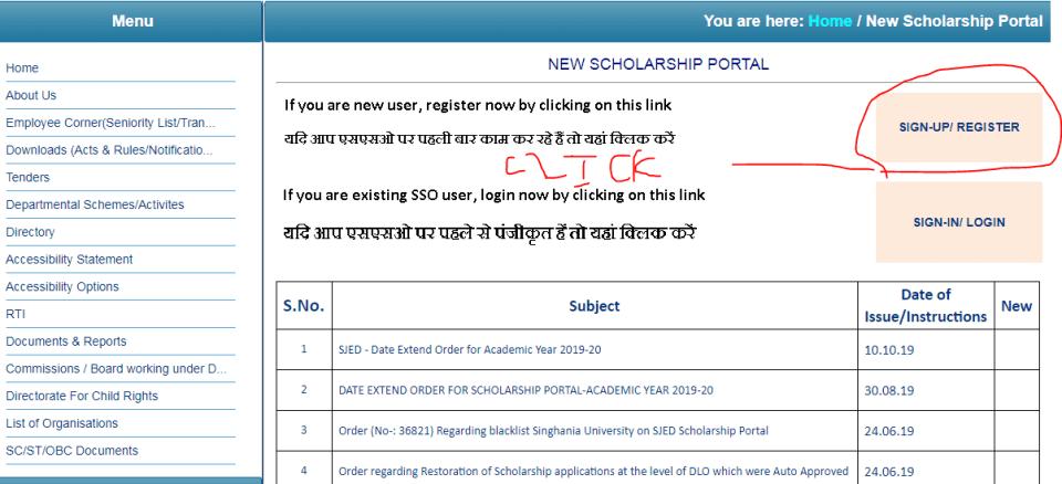 Rajasthan Scholarship Scheme 2020