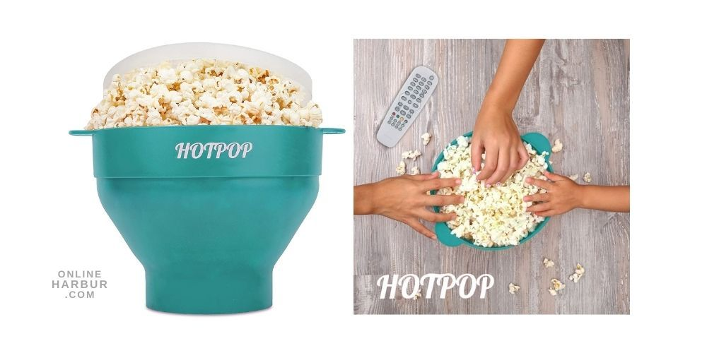 the hotpop microwave popcorn popper