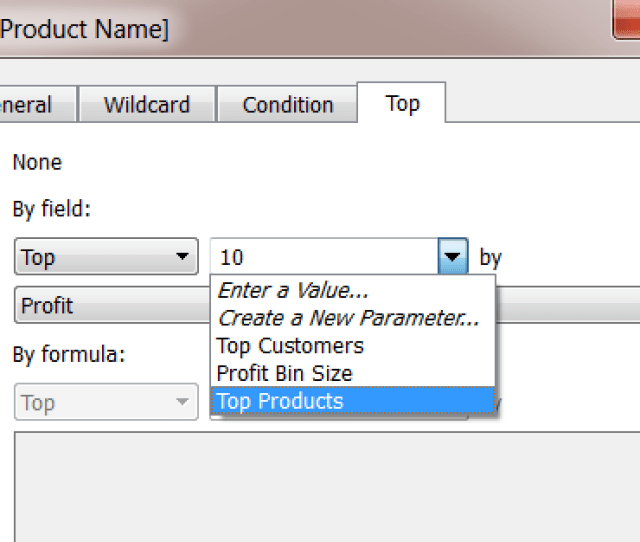 To Show The Parameter Control Right Click The Parameter In The Data Pane And Select Show Parameter Control Use The Parameter Control To Modify The Filter