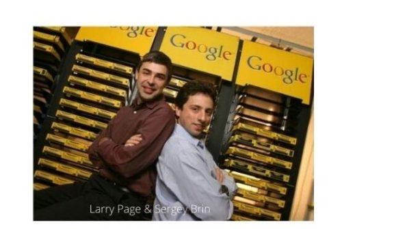 google ka avishkar kisne kiya