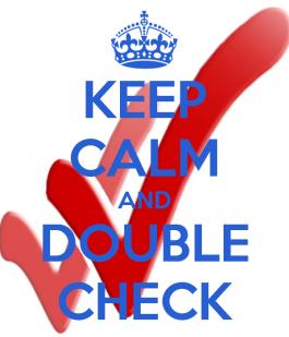 Double Check
