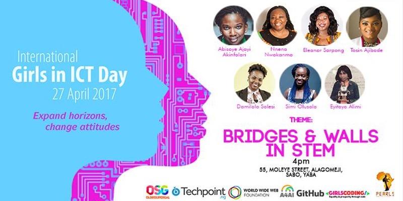 'Bridges & Walls in STEM': An International Girls in ICT Day Event