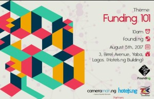 Plan to attend Funding 101 Workshop in Lagos on August 5th