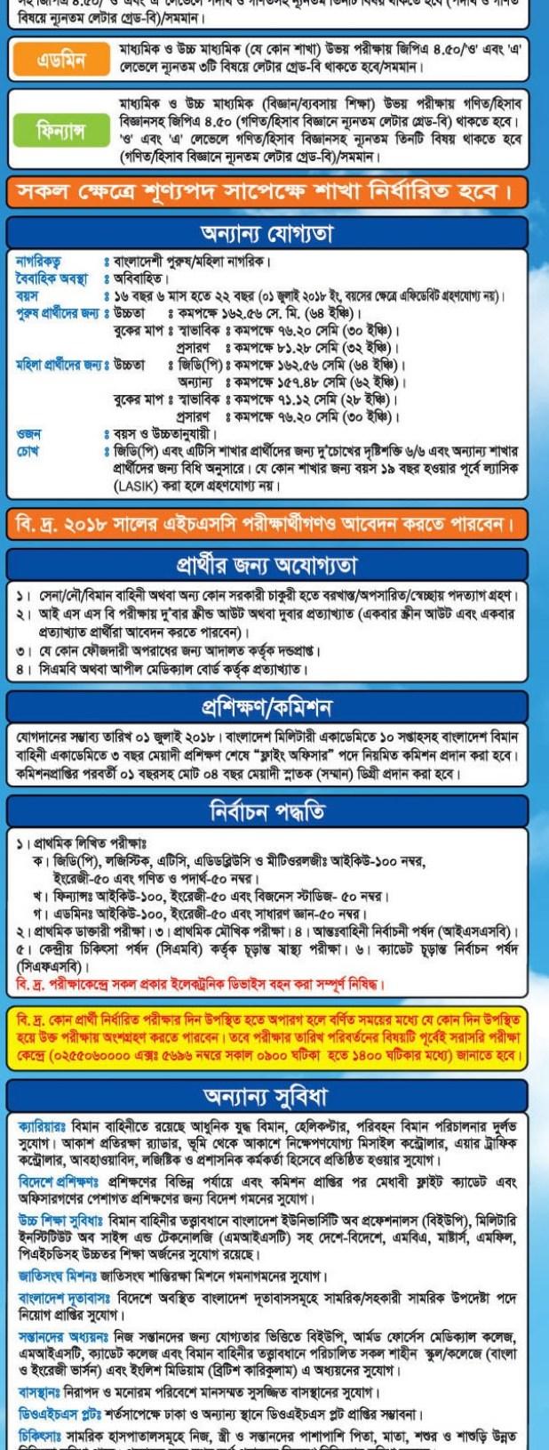 Air Force Job Circular 2018 - Govt Jobs In_bangladesh