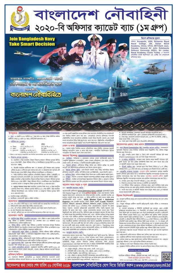 Navy Latest Job Circular 2019