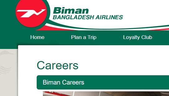 Biman hires employees through advertisement