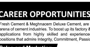Meghna Group job Circular