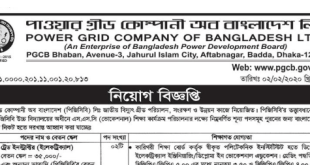 Power Grid Company Job Circular