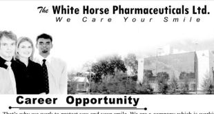 The White Horse Pharmaceuticals LTD Job