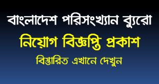 Bangladesh Bureau Statistics Job Circular 2020