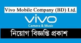 Vivo Mobile Company Job Circular 2020
