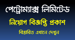 Petromax limited Job circular 2020