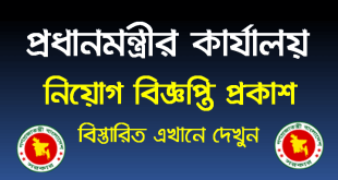Prime Minister Office Job Circular 2021