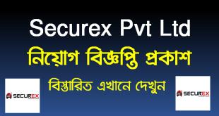 Securex Pvt Ltd job circular 2021