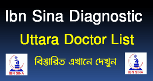Ibn Sina Diagnostic Uttara Doctor List Location Contact