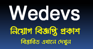 Wedevs job circular 2021