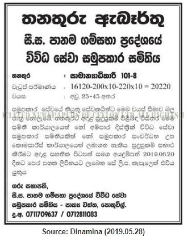 Government Bank General Manager Jobs Vacancies 2019