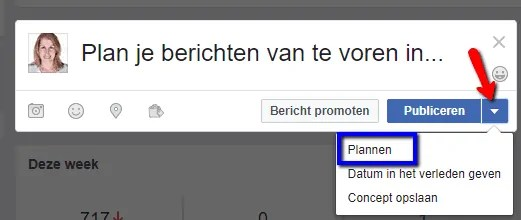 Plannen Facebook