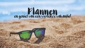 Plannen en geniet van je vakantie