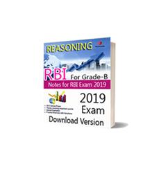 Download Pdf Notes of RBI For Grade-B Reasoning Download Version