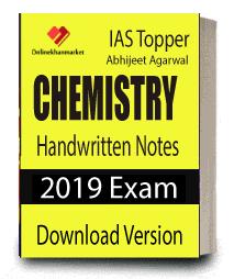 Ebook of IAS Topper Abhijeet Agarwal Handwritten Notes Chemistry for IAS Exam 2019