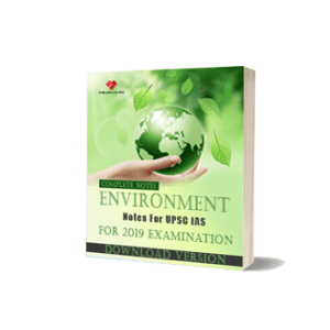 E-book for Environment Notes For UPSC IAS Complete Notes Download Version