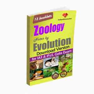 Download ZOOLOGY- Notes by EVOLUTION for IAS & IFoS, Gate Exam
