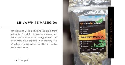 Shiva White Maeng Da capsules