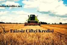 Photo of Ziraat Bankası 2021 Faizsiz Çiftçi Kredisi Şartları