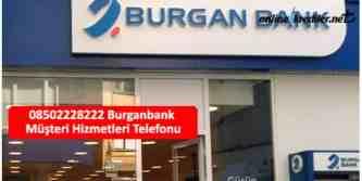 burganbank telefon 08502228222